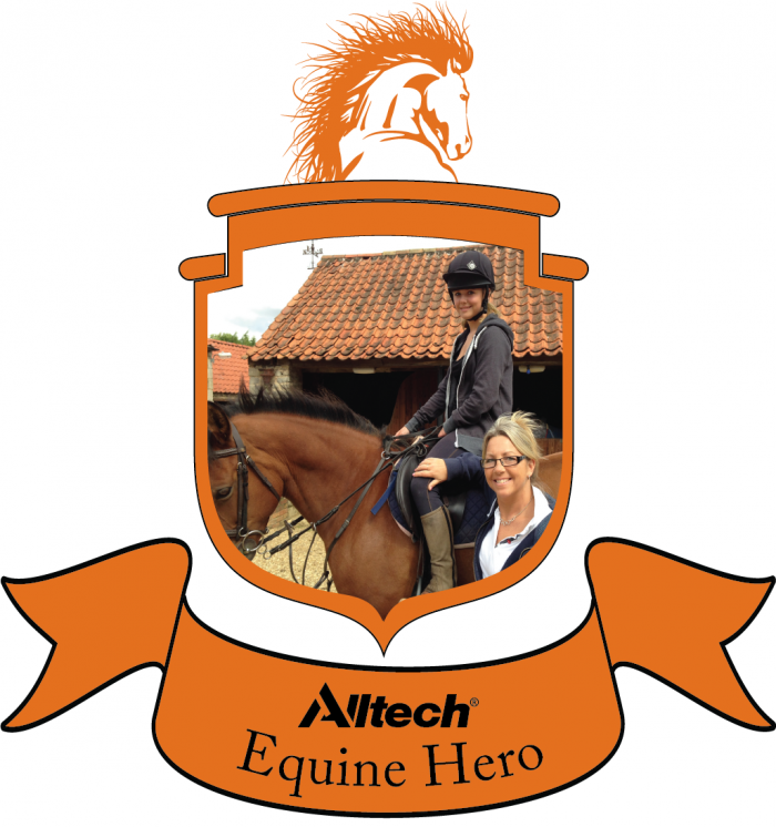 Jacqui & Alice Edwards of Alice Reins win Alltech Equine Hero Award