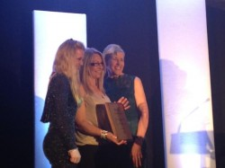 Award Winning Alice Reins at the Mercury Business Awards