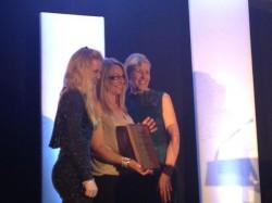 Award Winning Alice Reins at the Mercury Business Awards